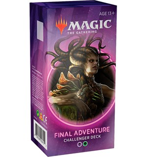 Magic Challenger Deck Final Adventure Challenger Deck 2020 - Svart/Grønn