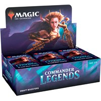 Magic Commander Legends Draft Display 24 boosterpakker - Fabrikkforseglet