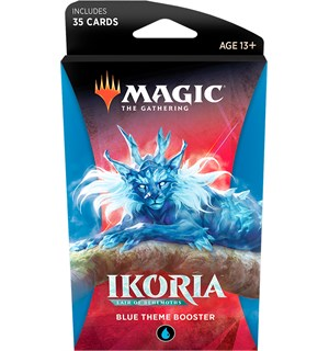 Magic Ikoria Theme Booster Blue Lair of Behemoths - 35 blue kort