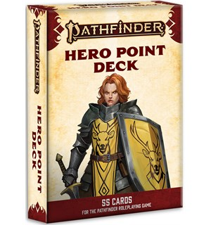 Pathfinder 2nd Ed Cards Hero Point Deck Second Edition - 55 kort