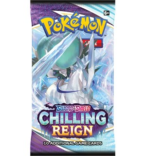 Pokemon Chilling Reign Booster Sword & Shield 6