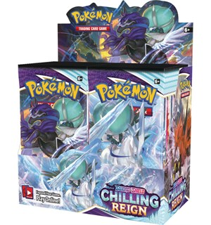 Pokemon Chilling Reign Display 36 boosterpakker á 10 kort pr pakke