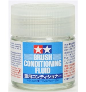 Tamiya Brush Conditioning Fluid 23ml Brush restorer