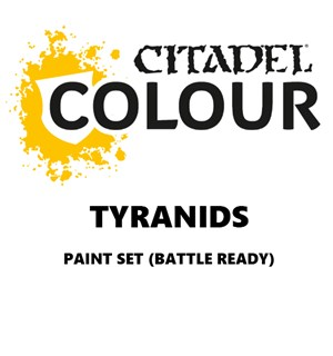 Tyranids Paint Set Battle Ready Paint Set for din hær