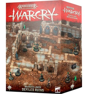 Warcry Terrain Defiled Ruins Warhammer Age of Sigmar - Ravage Lands