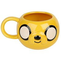 Adventure Time 3D Kopp Jake Stor kapasitet - 0,5 liter