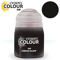Airbrush Paint Corvus Black 24ml Maling til Airbrush