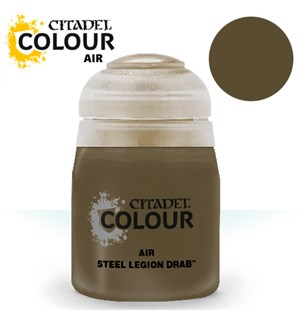 Airbrush Paint Steel Legion Drab 24ml Maling til Airbrush