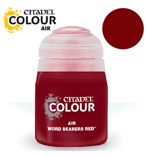Airbrush Paint Word Bearers Red 24ml Maling til Airbrush