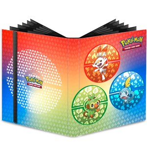 Album Pokemon 40x 9 Pocket Binder plass til 360 Pokemon-kort