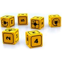 Alien RPG Stress Dice Set - 10 stk