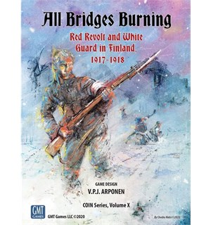 All Bridges Burning 1917-1918 Brettspill Red Revolt and White Guard in Finland