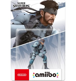 Amiibo Figur Snake Super Smash Bros Collection No 75