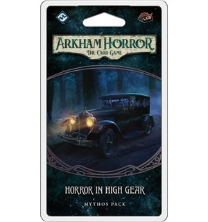 Arkham Horror TCG Horror High Gear Exp Utvidelse til Arkham Horror Card Game