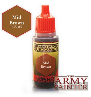 Army Painter Warpaint Mid Brown