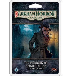 Barkham Horror Meddling Meowlathotep Ex Utvidelse til Arkham Horror Card Game