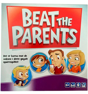 Beat the Parents Brettspill Norsk utgave