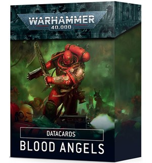Blood Angels Datacards Warhammer 40K