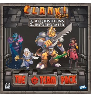 Clank Legacy The C Team Pack Expansion Utvidelse Clank Legacy