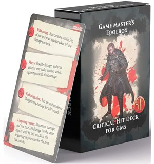 D&D Critical Hit Deck for GMs Dungeons & Dragons - 52 kort