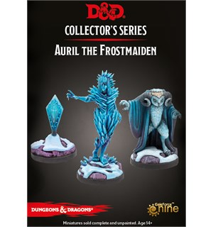 D&D Figur Coll. Series Auril (3 figurer) Dungeons & Dragons Collectors Series