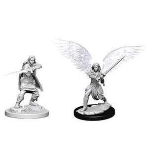 D&D Figur Nolzur Aasimar Fighter Female Nolzur's Marvelous Miniatures - Umalt