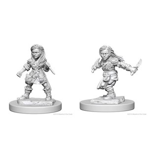 D&D Figur Nolzur Halfling Rogue Female Nolzur's Marvelous Miniatures - Umalt