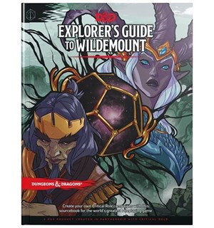D&D Suppl. Explorers Guide to Wildemount Dungeons & Dragons Supplement