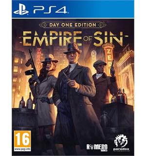 Empire of Sin Day One Edition PS4 Pre-order og få The Good Son DLC