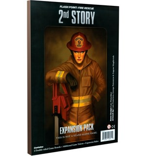 Flash Point 2nd Story Expansion Utvidelse til Flash Point Fire Rescue