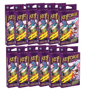 KeyForge Collide Archon Deck - Display Worlds Collide - 12 Archon Decks
