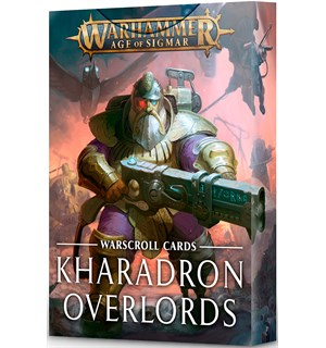 Kharadron Overlords Warscroll Cards Warhammer Age of Sigmar