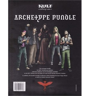 Kult RPG Archetype Bundle Divinity Lost - 4th Edition