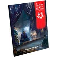 Legend of the 5 Rings RPG Sins of Regret Legend of the Five Rings Adventure