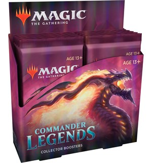 Magic Commander Legends Coll Display 12 boosterpakker - Fabrikkforseglet