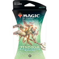 Magic Zendikar Rising Theme White Theme Booster - 35 hvite kort
