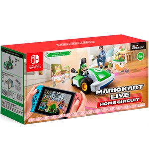 Mario Kart Live Home Circuit Luigi Set For Nintendo Switch