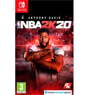 NBA 2K20 m/ bonus Switch Pre-order og få in-game bonuser