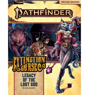 Pathfinder 2nd Ed Extinction Curse Vol 2 Legacy of the Lost God - Adventure Path