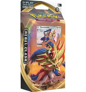 Pokemon Rebel Clash Theme Deck Zamazenta Sword & Shield 2