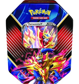 Pokemon Tin Box Zamazenta V Legends of Galar Summer 2020