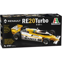 Renault RE 20 Turbo Italeri 1:12 Byggesett