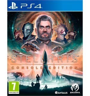 Stellaris Console Edition PS4 Inkluderer Expansion Pass One