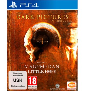 The Dark Pictures Anthology Vol 1 PS4