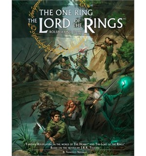 The One Ring LotR RPG Game Rulebook Second Edition - The Lord of the Rings