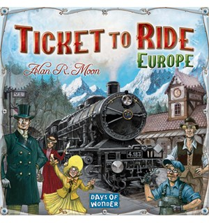 Ticket to Ride Europe Brettspill Europa - Scandinavisk utgave