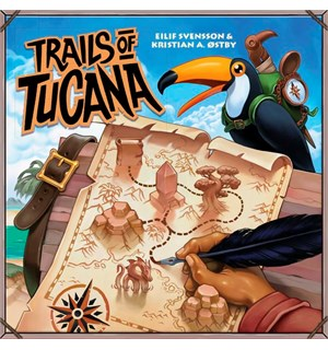 Trails of Tucana Brettspill - Norsk