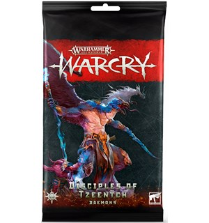 Warcry Cards Disciples of Tzeentch