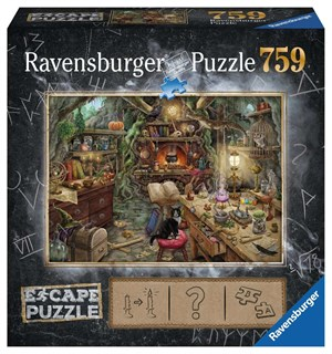 Witchs Kitchen 759 biter Puslespill Ravensburger Escape Room Puzzle