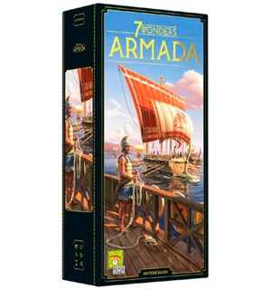 7 Wonders (2nd Ed) Exp Armada - Engelsk Utvidelse til 7 Wonders 2nd Edition